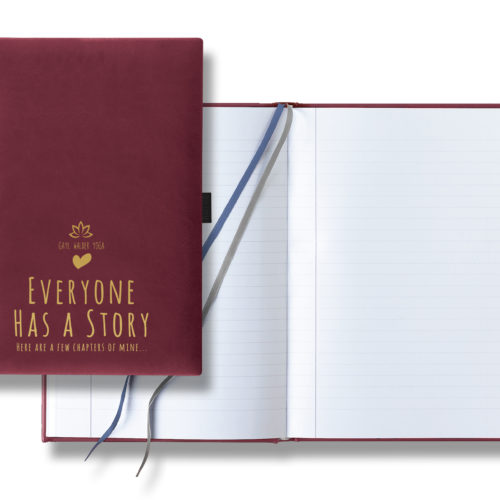 Everyone Has a Story – Burgundy