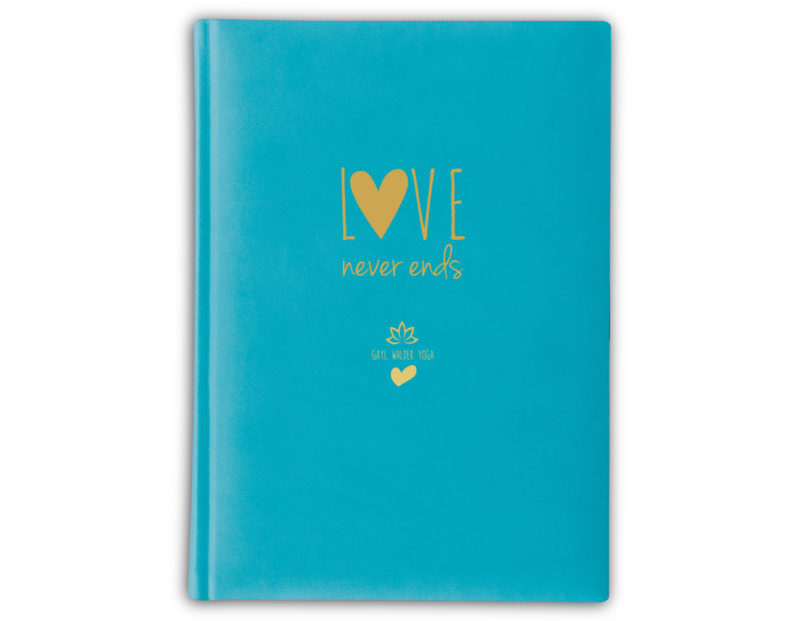 Love Never Ends – Sky Blue (Turquoise)